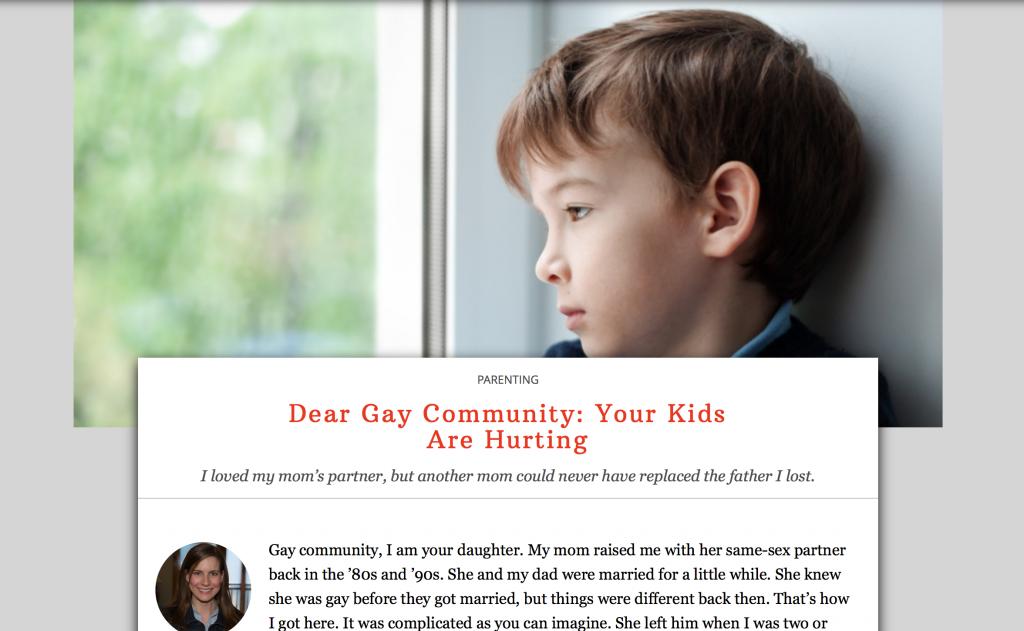 Dear gay community